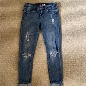 H+M Distressed Jeans
